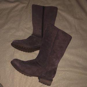 UGG Brown Boots Zip-Up
